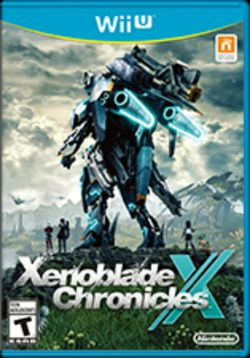 Box artwork for Xenoblade Chronicles X.
