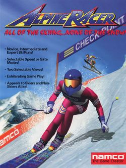 Box artwork for Alpine Racer.