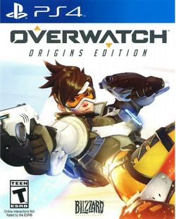 Box artwork for Overwatch.