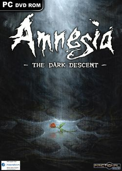 Box artwork for Amnesia: The Dark Descent.
