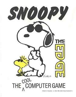 Box artwork for Snoopy.