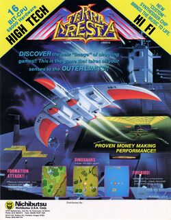 Box artwork for Terra Cresta.