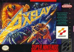 Box artwork for Axelay.