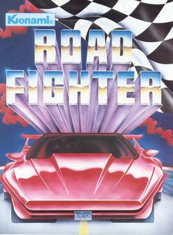 Box artwork for Road Fighter.