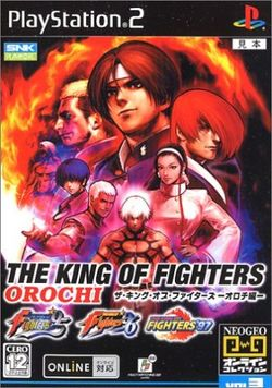 Box artwork for The King of Fighters Orochi Collection.