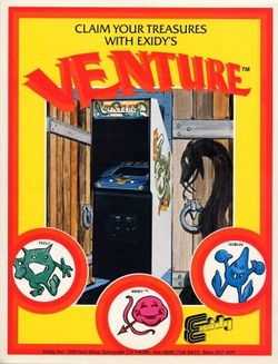 Box artwork for Venture.