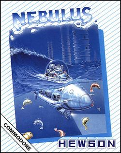 Box artwork for Nebulus.