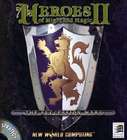 Box artwork for Heroes of Might and Magic II: The Succession Wars.
