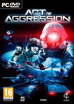 Box artwork for Act of Aggression.