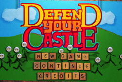 Box artwork for Defend Your Castle.