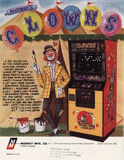 Box artwork for Clowns.