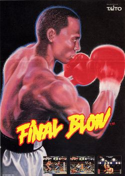 Box artwork for Final Blow.