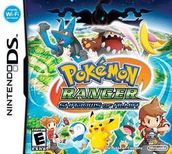 Box artwork for Pokémon Ranger: Shadows of Almia.