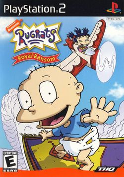 Box artwork for Rugrats: Royal Ransom.