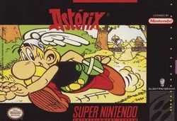 Box artwork for Asterix.