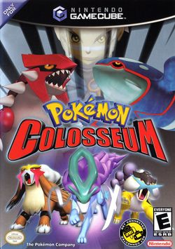 Box artwork for Pokémon Colosseum.