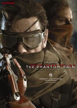 Box artwork for Metal Gear Solid V: The Phantom Pain.