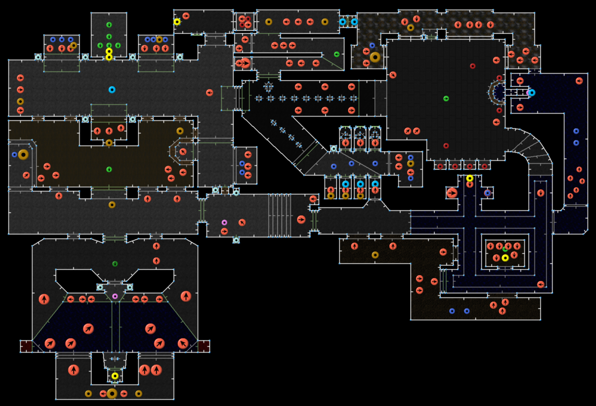 Doom II: Hell on Earth/MAP05: The Waste Tunnels ...