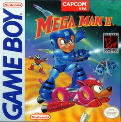 Box artwork for Mega Man II.