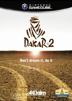 Box artwork for Dakar 2.