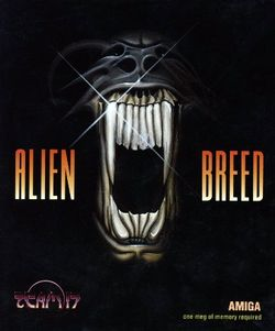 Box artwork for Alien Breed.