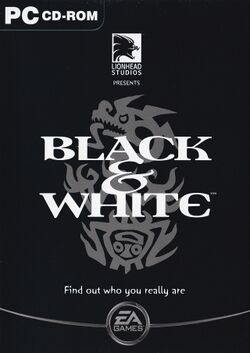 Box artwork for Black & White.