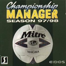 Box artwork for Championship Manager: Season 97/98.