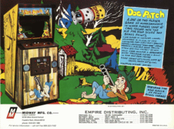 Box artwork for Dog Patch.