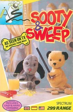 Box artwork for Sooty and Sweep.
