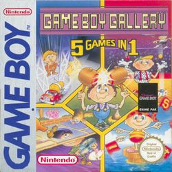 Box artwork for Game Boy Gallery.
