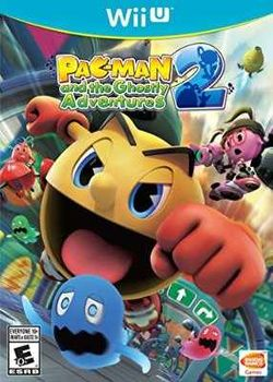 Box artwork for Pac-Man and the Ghostly Adventures 2.