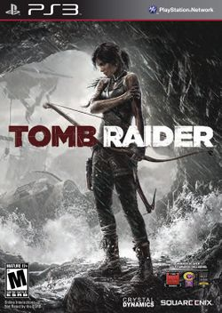 Box artwork for Tomb Raider.