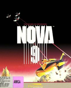 Box artwork for Nova 9: Return of Gir Draxon.