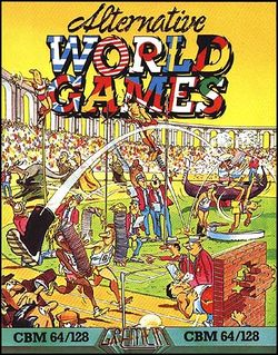 Box artwork for Alternative World Games.