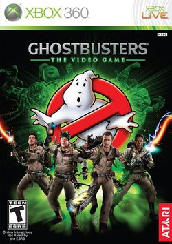 Box artwork for Ghostbusters: The Video Game.
