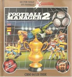 Box artwork for Football Manager 2.