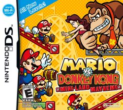 Box artwork for Mario vs. Donkey Kong: Mini-Land Mayhem!.