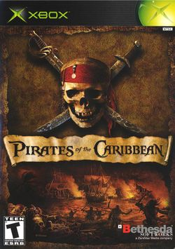 Box artwork for Pirates of the Caribbean.