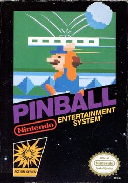 Box artwork for Pinball.