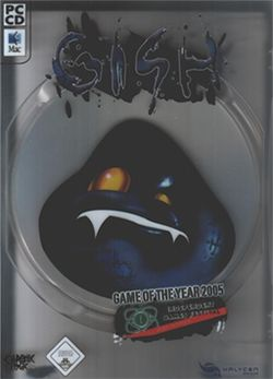 Box artwork for Gish.