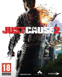 Box artwork for Just Cause 2.