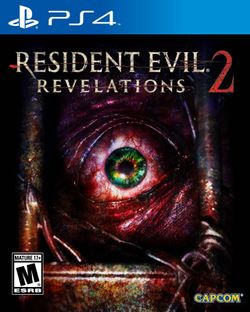 Box artwork for Resident Evil: Revelations 2.