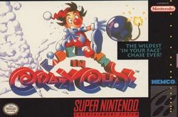 Box artwork for Kid Klown in Crazy Chase.