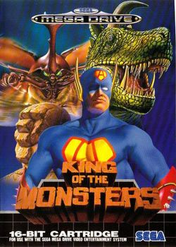 Box artwork for King of the Monsters.