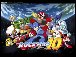 Box artwork for Mega Man 10.