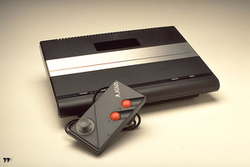 The console image for Atari 7800.