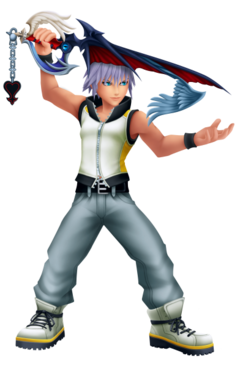 KH3D character Riku Way to Dawn.png
