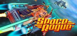Box artwork for Space Rogue (2016).
