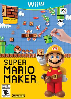 Box artwork for Super Mario Maker.