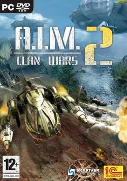 Box artwork for A.I.M. 2: Clan Wars.